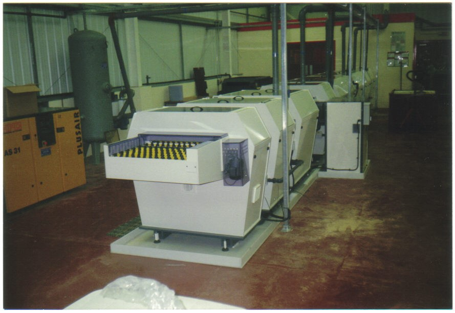 Metal Etching Processing Line