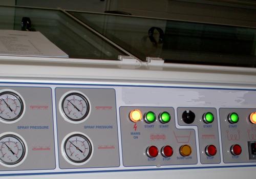 Etching Machine Gauges