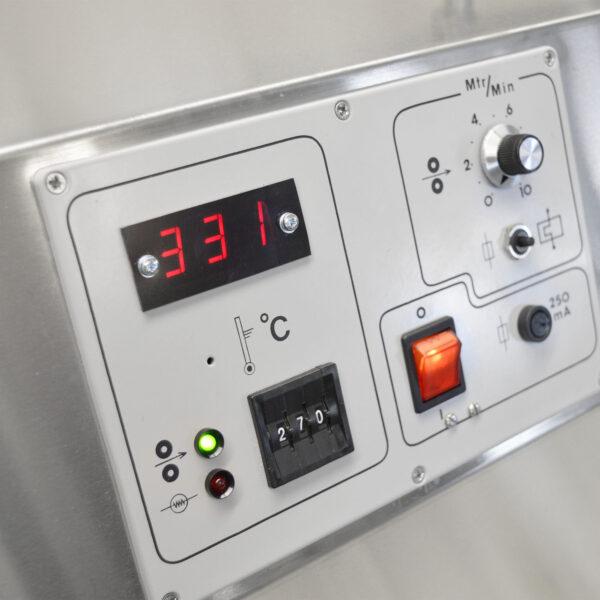 Roller Tinning Control Panel