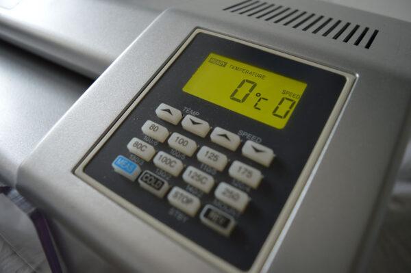 Dry Film Laminator Control Panel