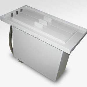 Photoplotter Tri Tank with Drain
