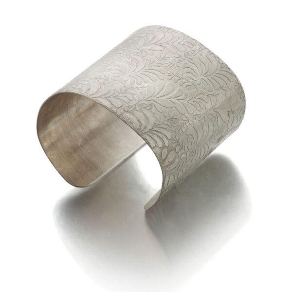 Press n Peel Etched Silver Ring